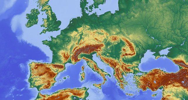 L'Europe géographique