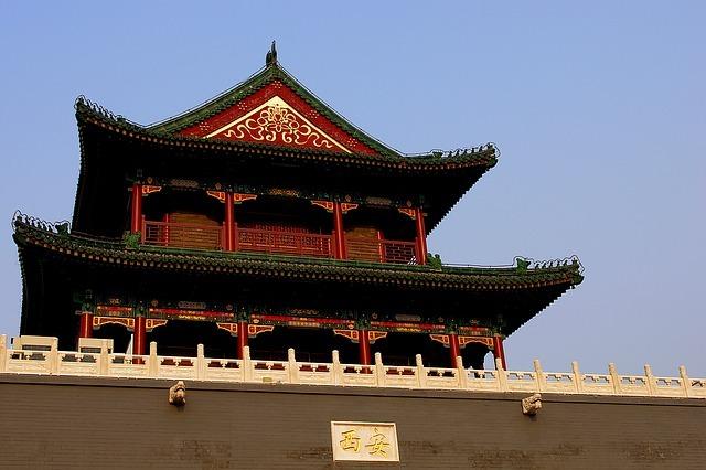 Bâtiment de la Chine ancienne