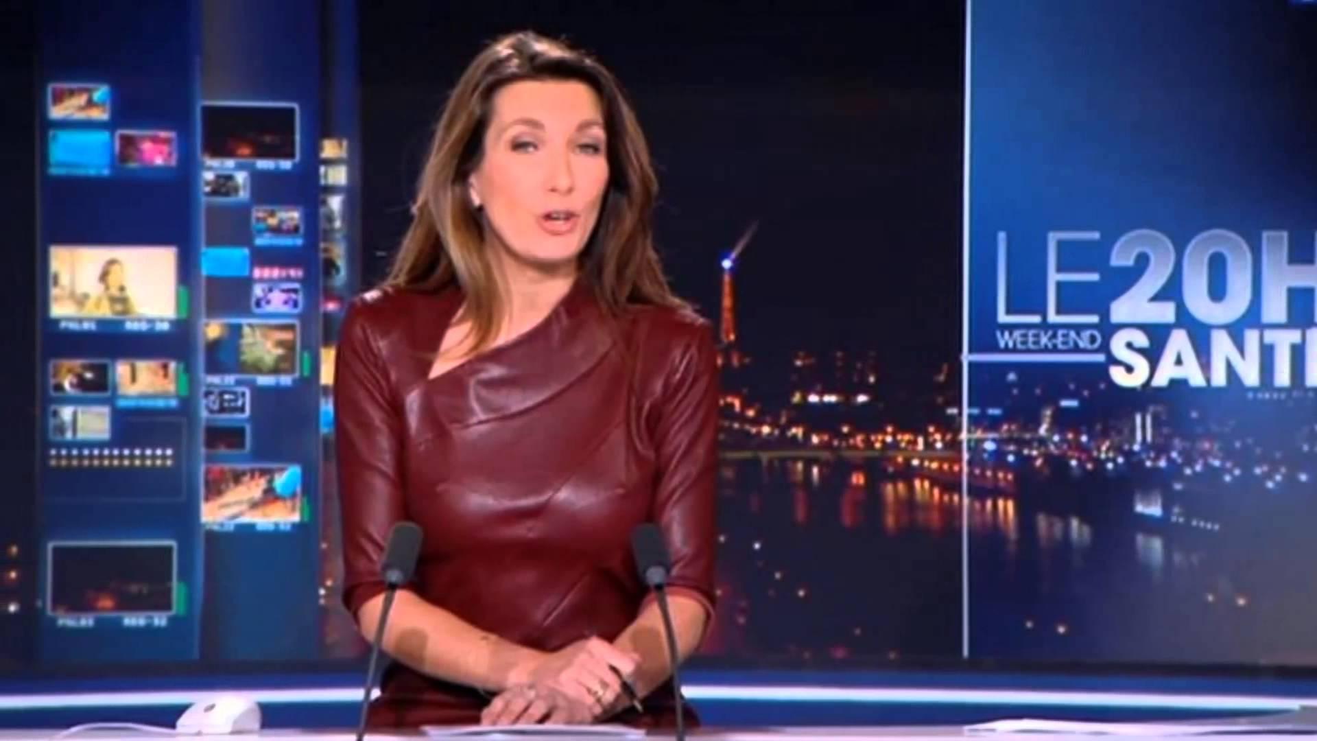 Anne-Claire Coudray présente le 20h