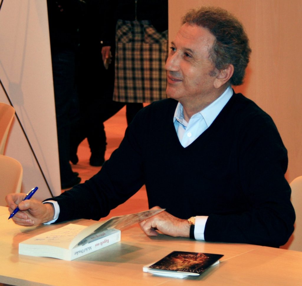 Michel Drucker au salon du livre en 2011