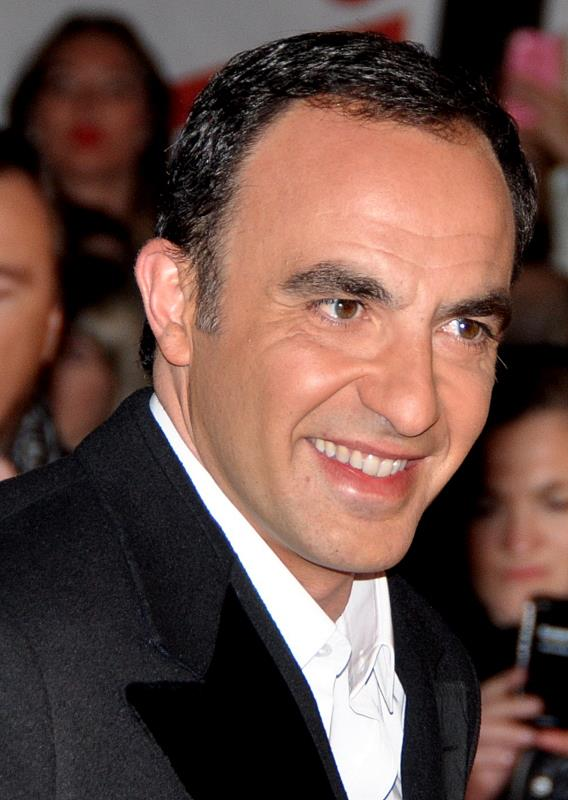 Nikos Aliagas aux NRJ Music Awards 2013