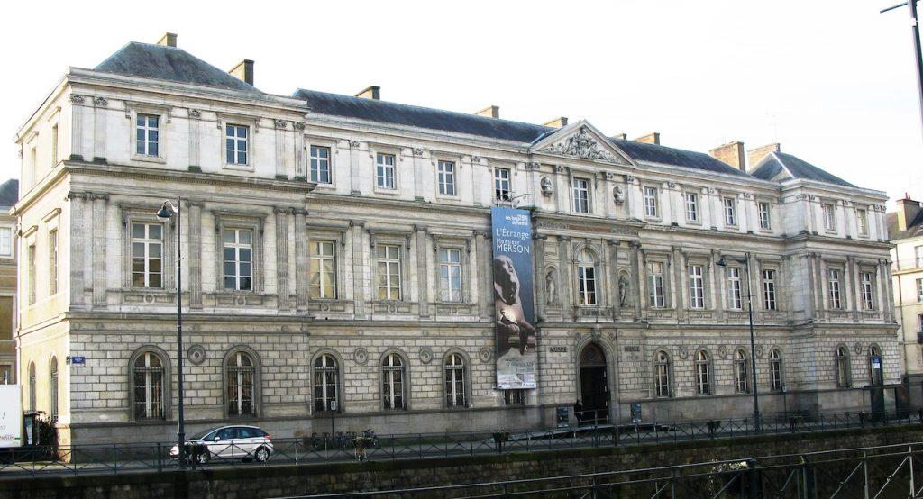 Rennes, ancien Palais Universitaire Musée des beaux arts