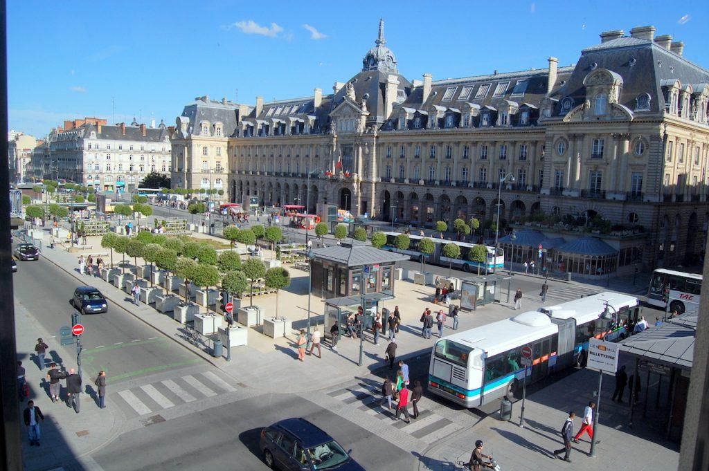Rennes, place de la République