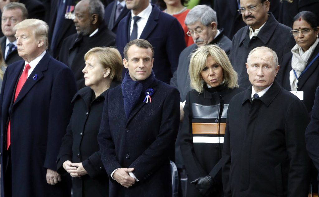 Brigitte Macron parmi les grands chefs d'Etats du monde