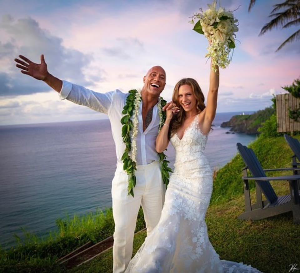 The Rock et sa femme