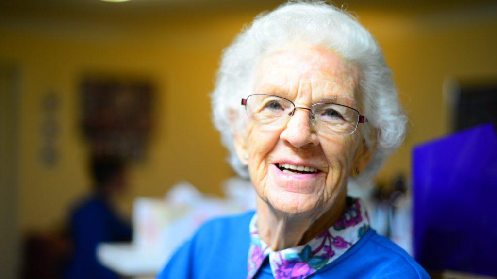personne âgée à la retraite