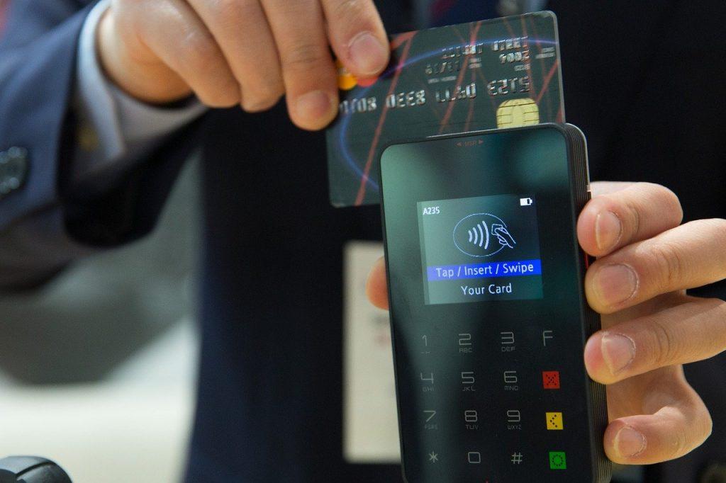 carte bancaire et TPE